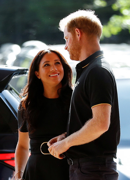 Harry Designed A Necklace for Meghan's Birthday