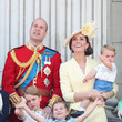 The Royal Children At The Trooping Of The Colour, 2019
