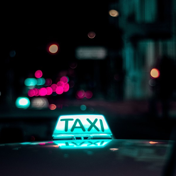 You Wonder When You Became A Taxi Driver