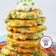 Add sweet corn to those fritters