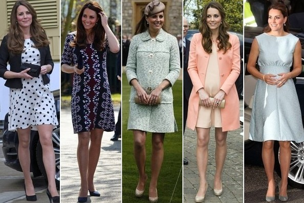 493a24dae097f The Best Celebrity Maternity Style · Kate Middleton's Maternity Style