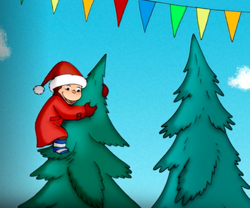 Curious George Christmas.Curious George A Very Monkey Christmas Tv G The Best