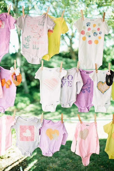 Ideas For Bohemian Baby Showers