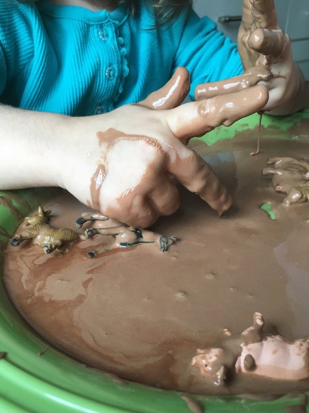 Make Oobleck Mud