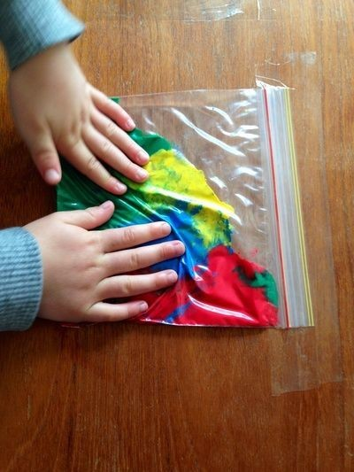 Create A Squishy Paint Bag