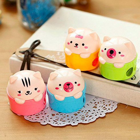 Don't Forget The Adorable Pencil Sharpeners