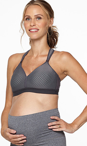 Sporty Mesh Nursing Bra