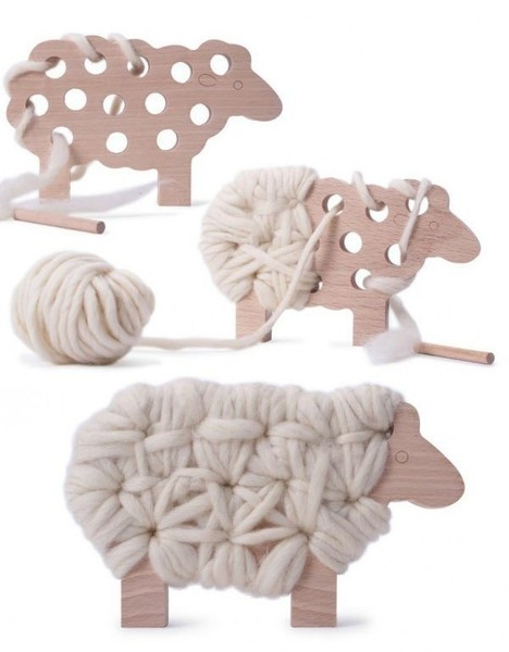 Wrap that sheep in yarn