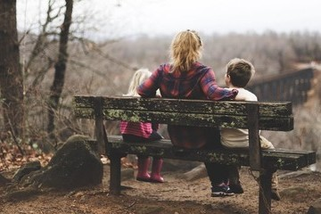 The Anxious Mom Guide To Authentic Parenting In Heavy Times