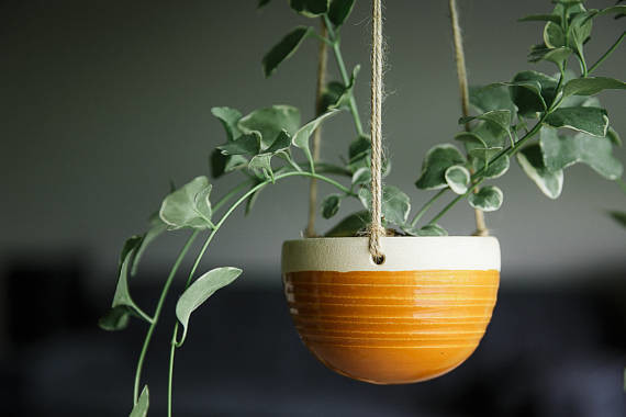 Ceramic Hanging Planter