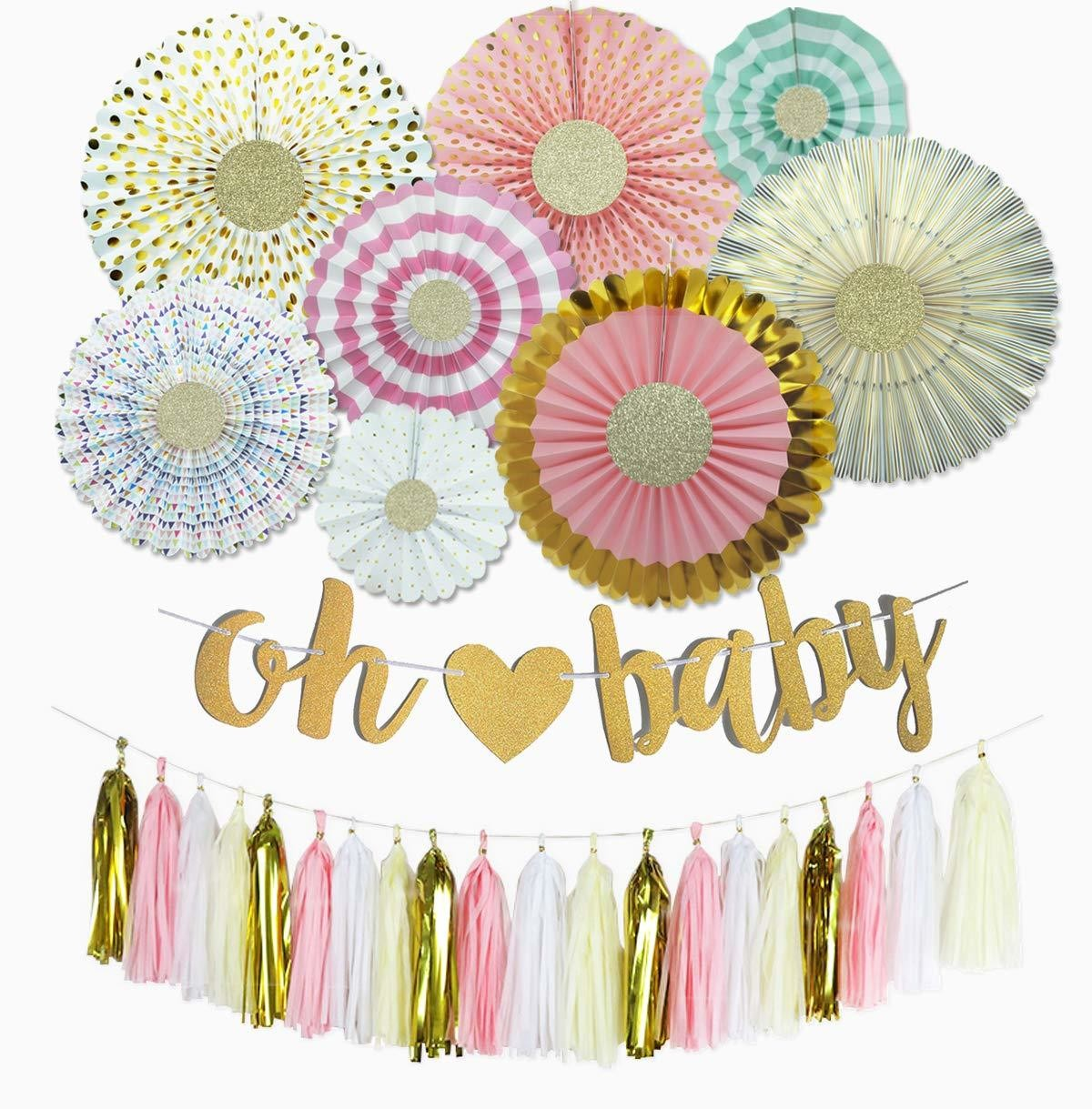 Cute Baby Shower Decorations On Amazon