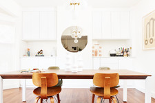 A Sleek Dining Room Transformation — With SO Much Storage